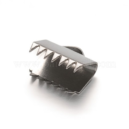 304ステンレス鋼リボンカシメエンドパーツSTAS-G130-11C-1