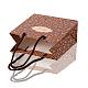 Bolsas de papel rosa impresas rectangularesCARB-F001-07A-4