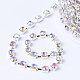 Cadenas de strass Diamante de imitación de bronceCHC-T002-SS8-02S-2
