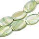 Brins de perles de coquille d'eau douce de couleur abX-SHEL-T009-04C-1