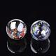 Handmade Blown Glass Globe BeadsDH017J-1-12mm-AB-2