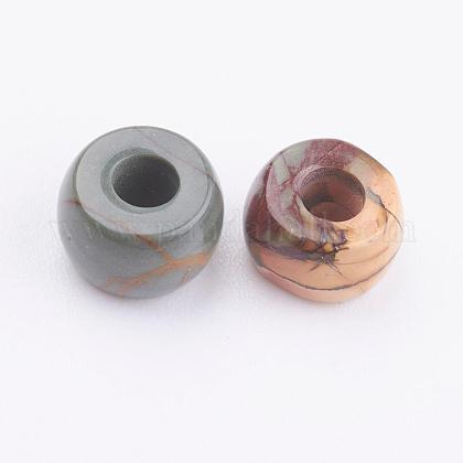 天然ピカソストーン/ピカソジャスパービーズG-K216-04A-1