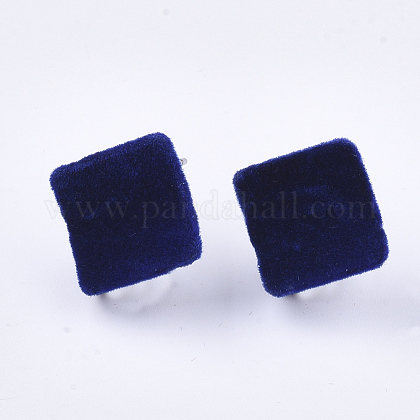 Fornituras de aretes de hierro flockyIFIN-S704-35A-1