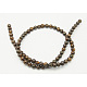 Natural Bronzite Beads StrandsX-G-Q605-24-2