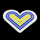 Сердце поделок Melty бисер hama бисер бисер комплектов: hama бисер бусиныX-DIY-R040-31-3