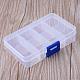 8 compartimentos contenedores de almacenamiento de grano plásticoX-CON-R007-01-1