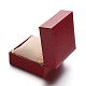 Square PU Leather Jewelry Boxes for WatchCON-M004-06-4