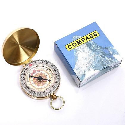 真鍮製蓄光コンパスWACH-I0018-1-1