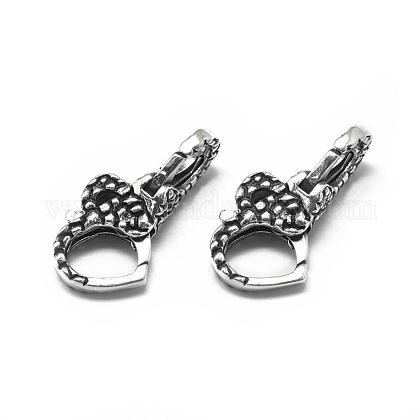 Тайские стерлинговые серебряные застежки из лобстераSTER-L057-005AS-1