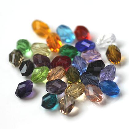 Imitation Austrian Crystal BeadsSWAR-F077-9x6mm-M-1