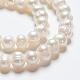 Hebras de perlas de agua dulce cultivadas naturalesA02S7013-4