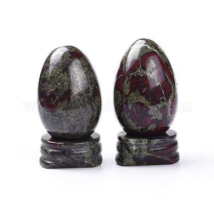 Decoraciones para el hogar de dragon bloodstone naturalG-K290-08-1