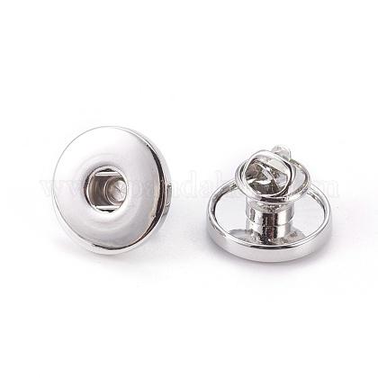 Cierre de mariposa de latón de moda broche botón decisiones insignia de solapaKK-S084-1