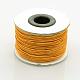 Hilos cuerdas de nylon joyas rebordear redondas elásticasNWIR-L003-C-12-2