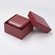 Light Cover Paper Jewelry Ring BoxOBOX-G012-01B-2