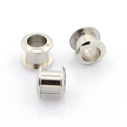 304 Stainless Steel European Bead CoresSTAS-J011-01-1