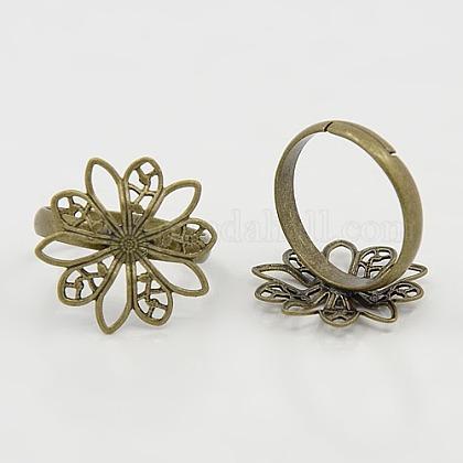 Brass Ring ShanksKK-H061-AB-1