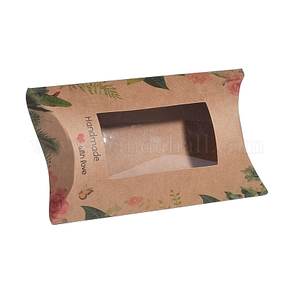 Paper Pillow Boxes CON-G007-02B-06-1