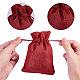 黄麻布ラッピングポーチ巾着袋ABAG-PH0002-25-4