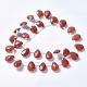Natural Red Jasper Beads StrandsG-G822-13B-2