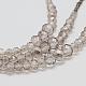Glass Bead Lariat NecklacesX-NJEW-O059-04K-4