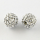 Abalorios de resina de Diamante de imitaciónRESI-S315-8x10-15-1