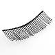 Accesorios de pelo fornituras de peine de pelo de hierroOHAR-Q043-16-2