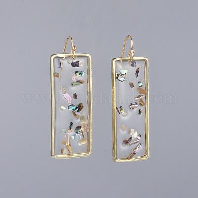 Resin Dangle Earrings