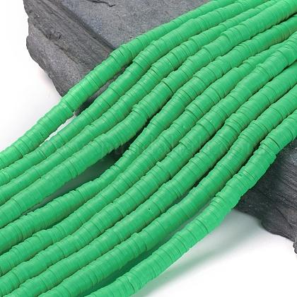 Abalorios de arcilla polimérica hechos a manoCLAY-R067-6.0mm-08-1