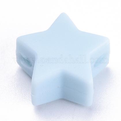 Abalorios de silicona ambiental de grado alimenticioSIL-T041-12-1