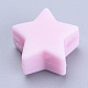 Abalorios de silicona ambiental de grado alimenticioSIL-T041-06-1