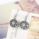 925 Sterling Silver EarringsEJEW-BB17737-4