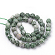 Natural Qinghai Jade Beads StrandsG-Q462-97-6mm-2