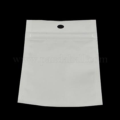 Sacs de fermeture à glissière en plastique de film de perleOPP-R003-12x20-1