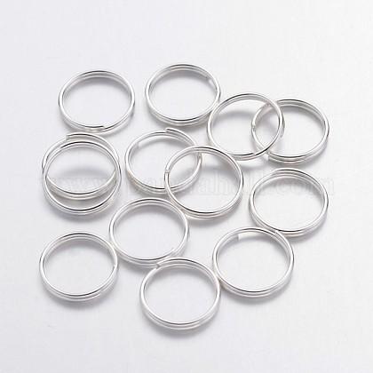 Серебряные кольца с покрытием из железаX-JRDS10mm-1