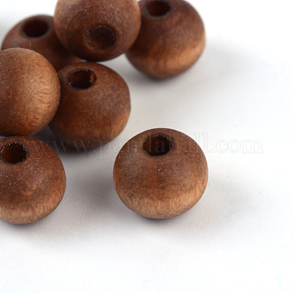 Natural Wood Beads X-WOOD-S659-03-LF-1