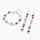 Natural Gemstone Jewelry SetsSJEW-JS00956-1