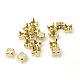 Brass Rhinestone Claw SettingsKK-A122-G-1