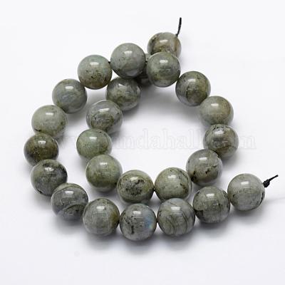 Labradorite 16mm Round Beads 25pcs