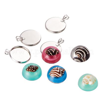DIY Jewelry Pendant Making SetsDIY-JP0001-EB-06-1
