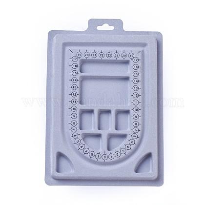 Пластиковые бисера доски дизайнаODIS-L003-05-1