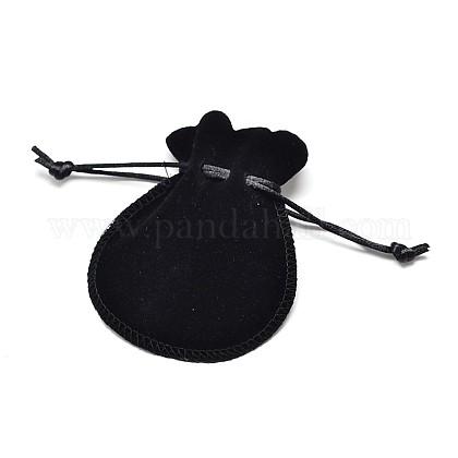 Velvet Bags Drawstring Jewelry PouchesX-TP-O002-C-06-1