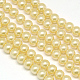 Environmental Dyed Glass Pearl Round Bead StrandsHY-A002-6mm-RB072