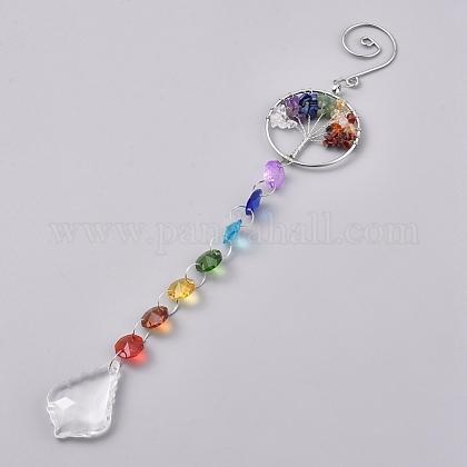 Cristal araña candelabros prismasAJEW-WH0021-50A-1