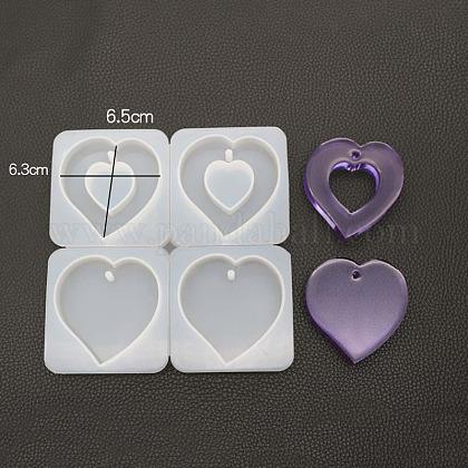 Moldes colgantes de siliconaDIY-K013-01-1