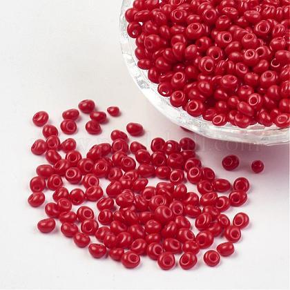 Granos de semillas de vidrio opacoX-SEED-R032-A07-1