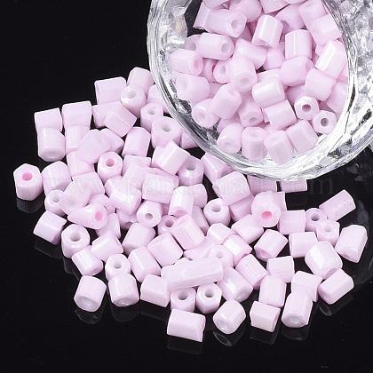 6/0 deux verre taillé perles de rocailleSEED-S033-06B-10-1