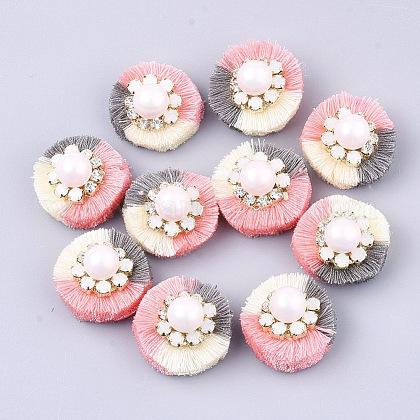 Accesorios de decoración de borla de polialgodón (algodón poliéster)FIND-S302-09A-1