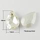 Diamante de imitación de cristal en puntaRGLA-Q002-18