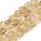 Natural Citrine Beads StrandsX-G-S363-008A-1